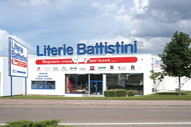 Magasin literie Battistini